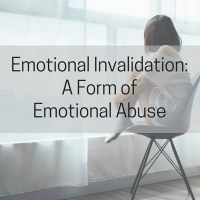 Emotional Invalidation: A Form of Emotional Abuse