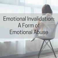 Emotional Invalidation: A Form of Emotional Abuse