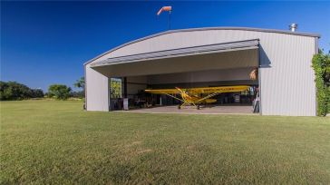 hangar home designs. 60  Hangar includes full kitchen bar office media room bath and storage Central Texas Home For Sale Aviation Real Estate