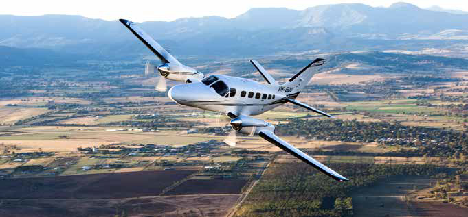 Charter flights operate in and out of Scone Regional Airport. Image courtesy of Tanya D'Herville & Airspeed Aviation.