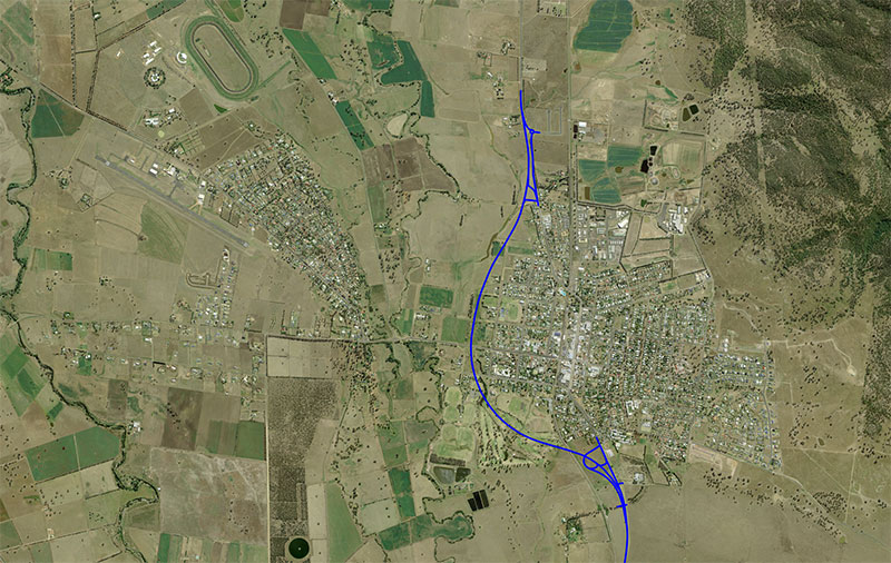 Scone Bypass route