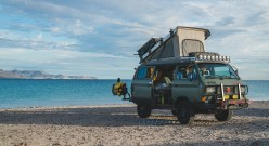 Vanagon Syncro in Baja Mexico