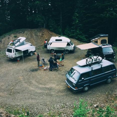 Vanagon campout