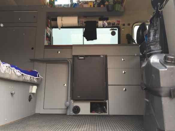 VW Vanagon custom interior