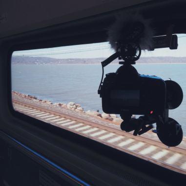 Filming on Metro North
