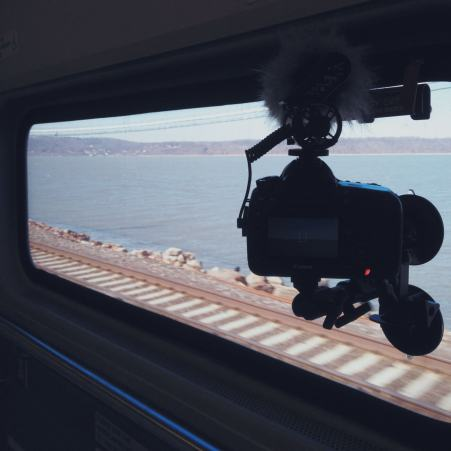 Filming on Metro North