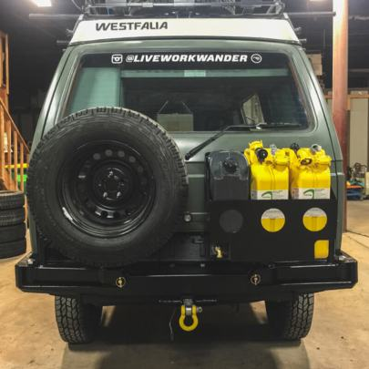 ripley the syncro custom bumper