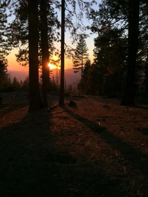 A Sunset in Yosemite
