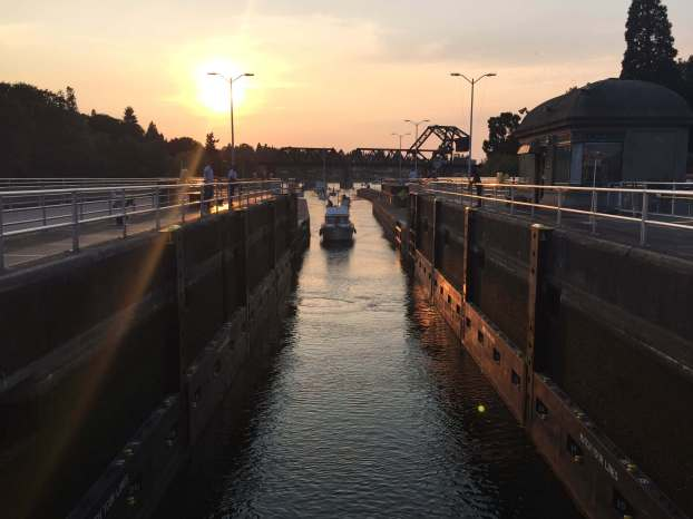 Ballard Locks, Seattle, Wa.