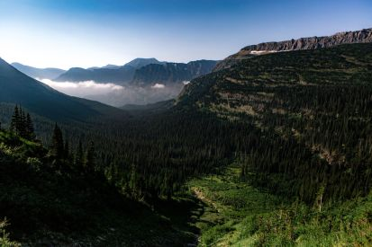 Glacier National Park, Mt.