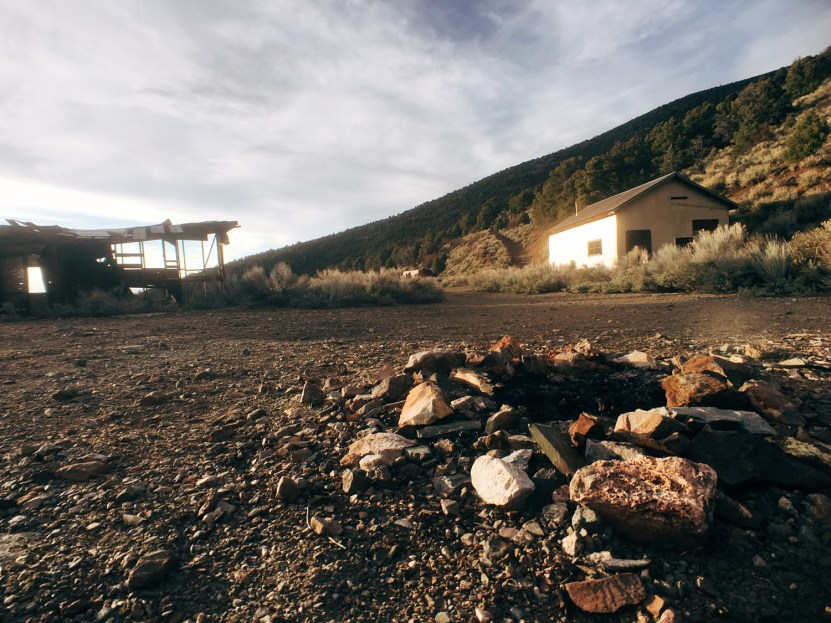 Abandoned mine in Nevada