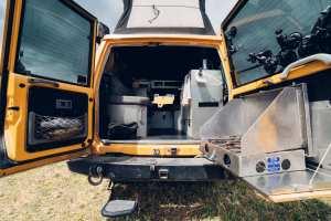 Land Cruiser Troop Carrier Camper Interior