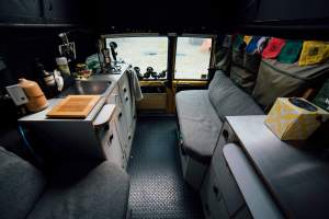 Land Cruiser Troop Carrier Camper Interior