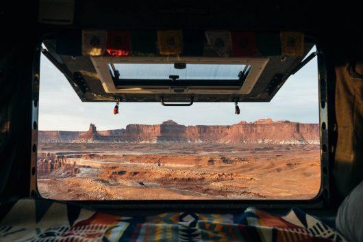 Canyonlands Murphy Camp in Land Cruiser