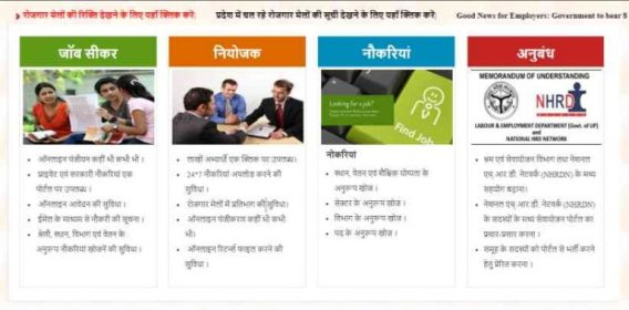 Uttar Pradesh Employment Fair 2020