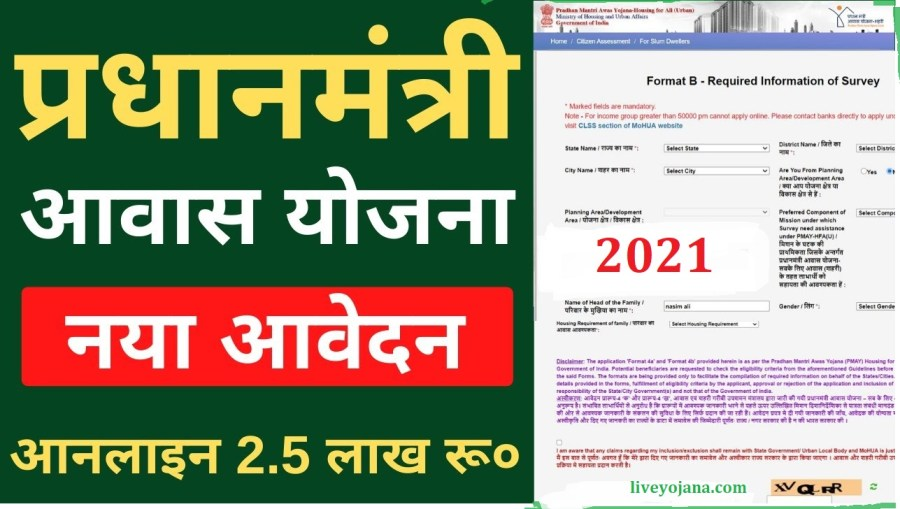 Pradhan Mantri Awas Yojana, Housing Scheme , PMAY-G Application Form