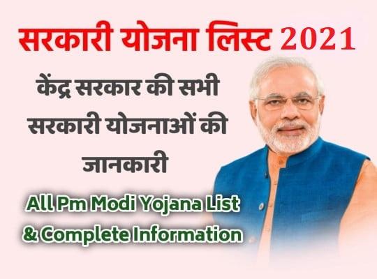 Pradhan-Mantri-Yojana-list, New Government Scheme, pm Kisan Samman Nidhi
