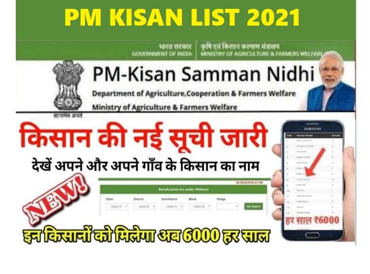 pm-kisan-yojana-list-2021