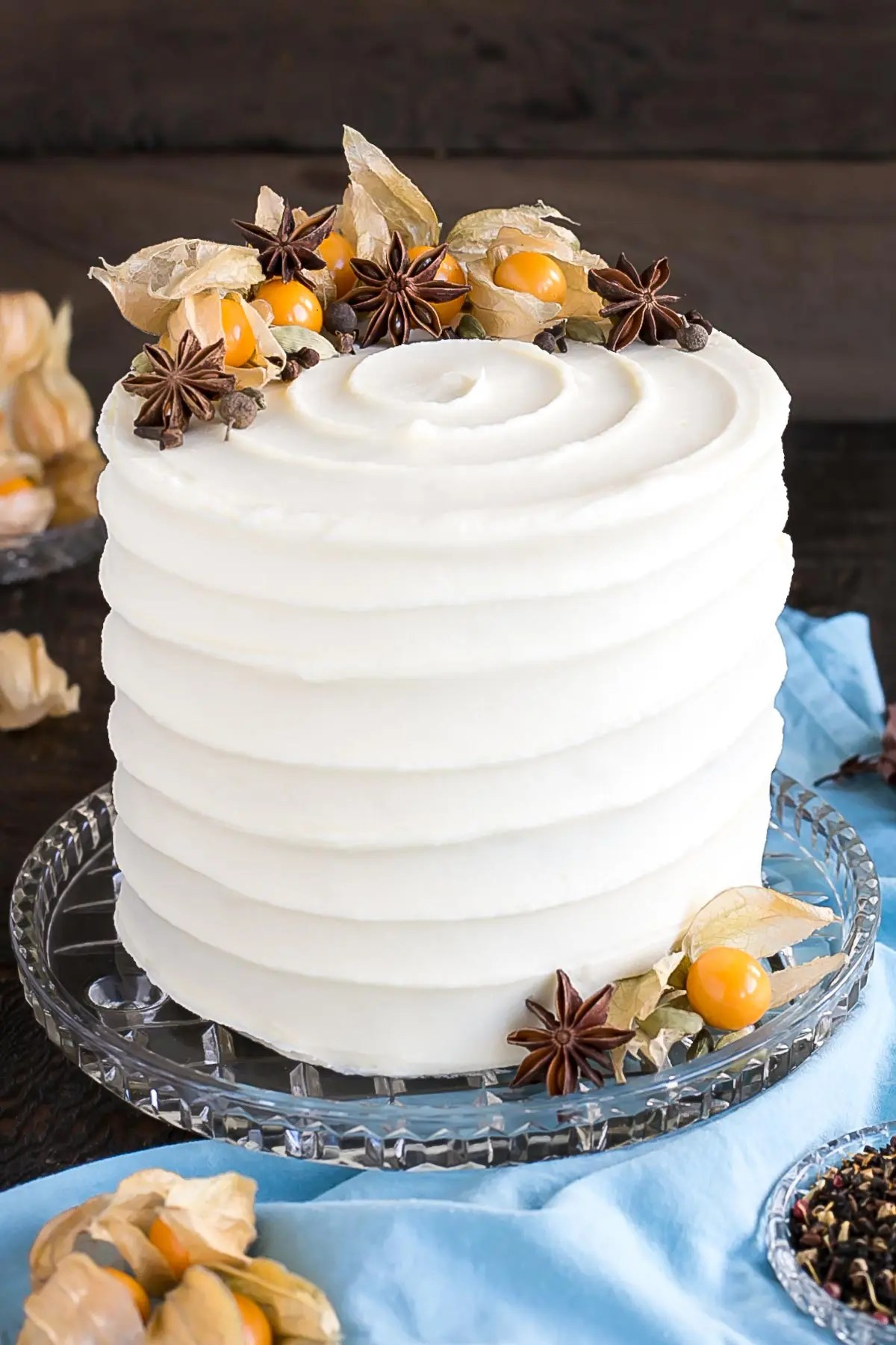 Chai Cake With Cream Cheese Frosting