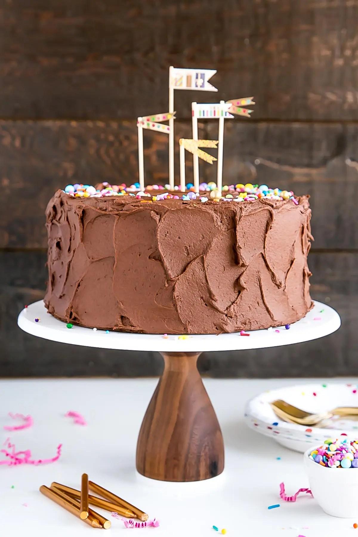 Classic Birthday Cake