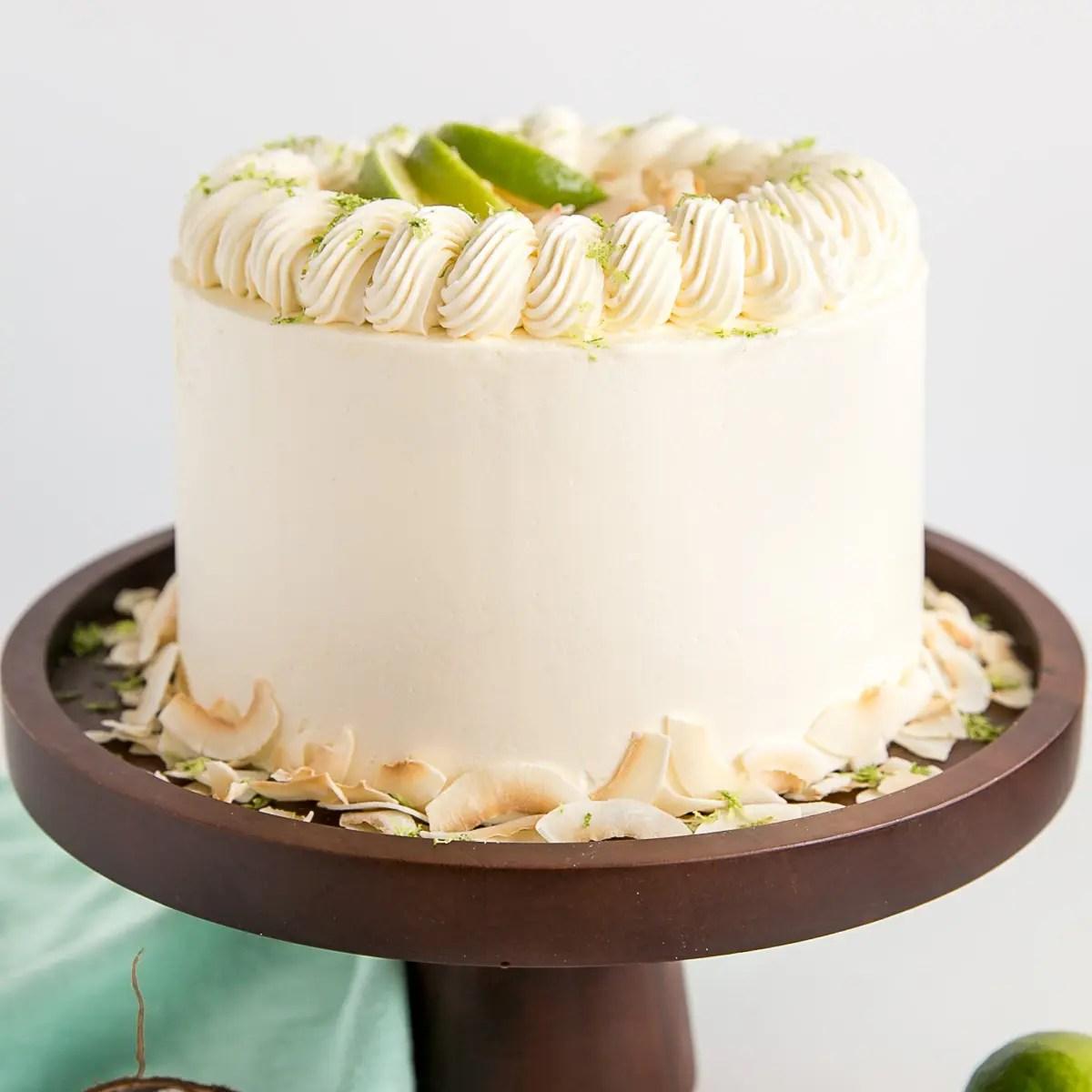Easter Coconut Cake