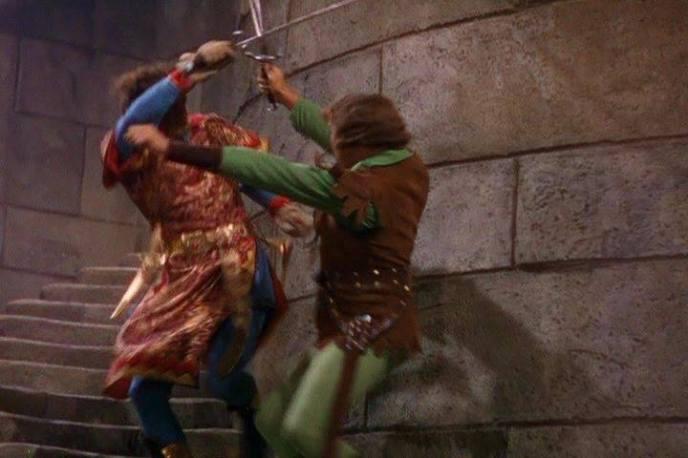 Robin Hood trava batalha contra Príncipe John