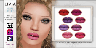LIVIA Crush Lipsticks