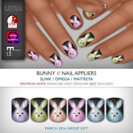 LIVIA Bunny Nails