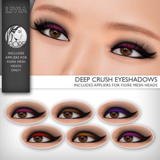 LIVIA Deep Crush Eyeshadow [Fiore Appliers] :: L$35