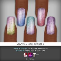 LIVIA Glow Nails
