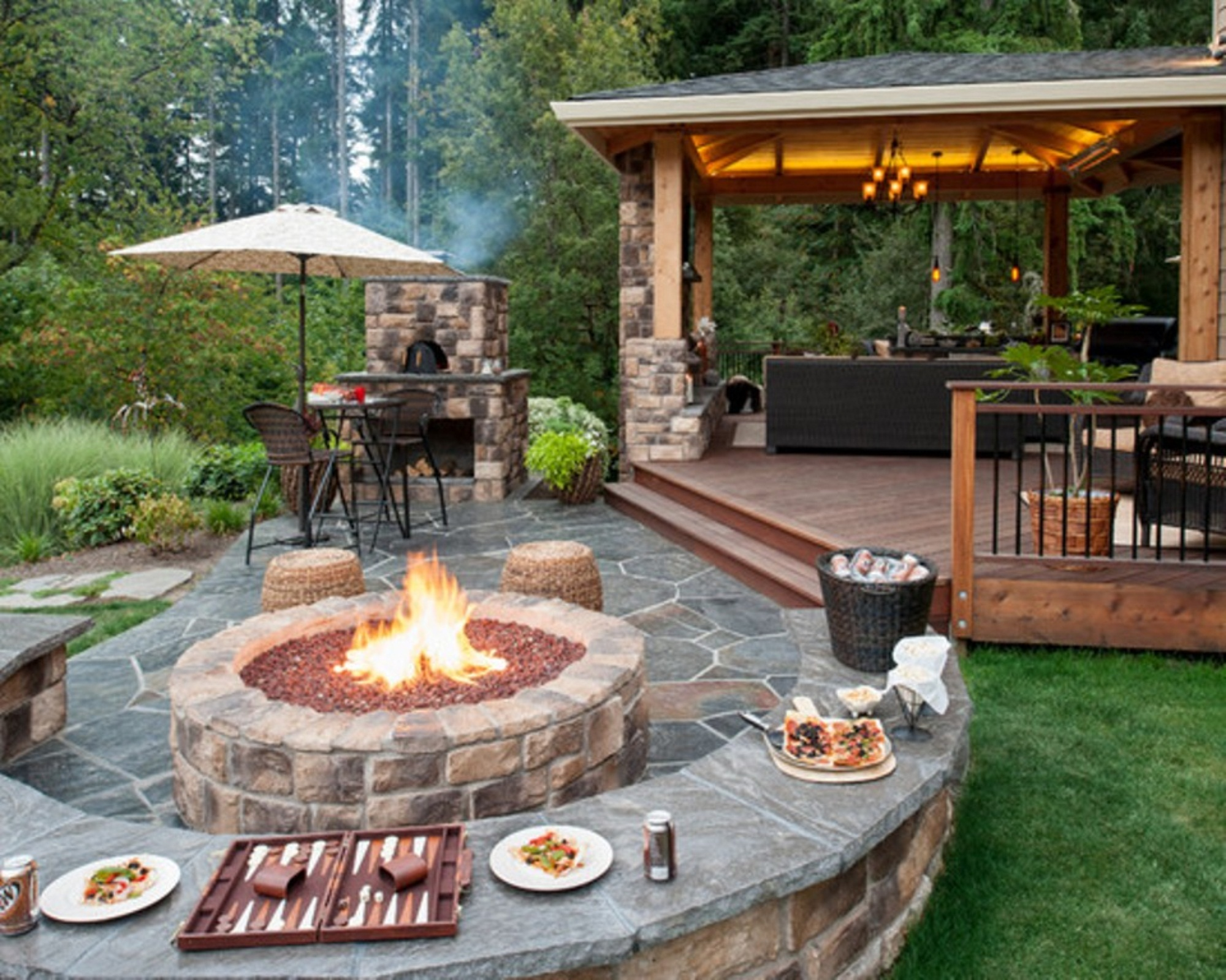 Upgrade Your Backyard with an Outdoor Kitchen on Outdoor Kitchen And Fireplace Ideas id=31787