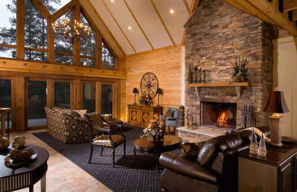 Todays Log Homes for Advantageous and Luxurious Living