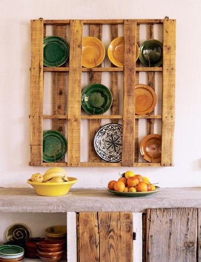 White Wall Plate Rack Wood Ikea Display
