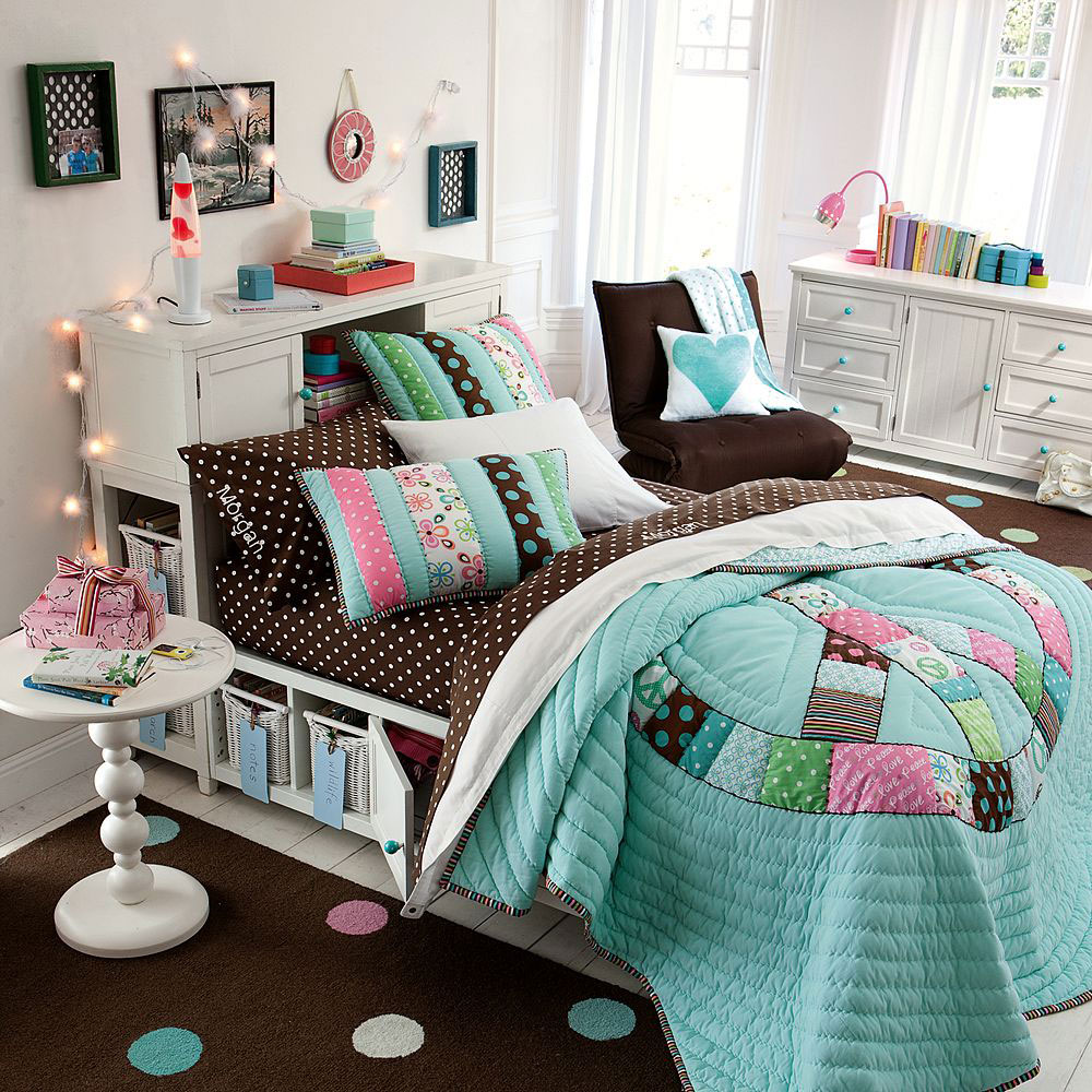 Girls' Bedroom Ideas to Make Her Feel Like a Princess on Beautiful Rooms For Teenage Girls  id=79001