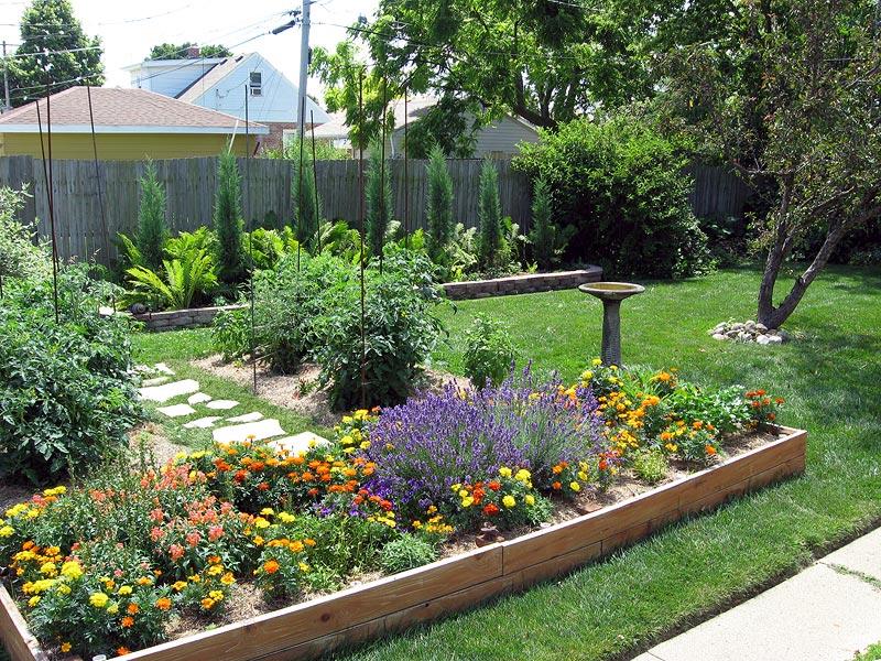 Raised Beds for Easy, Low-Maintenance Backyard Gardens on Backyard Raised Garden Bed Ideas id=15484