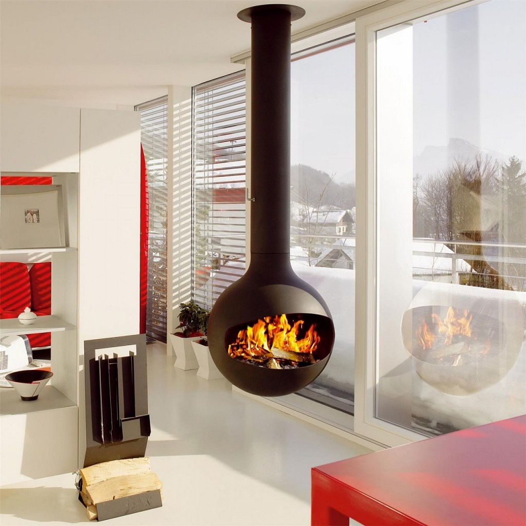 Modern fireplaces for stunning indoor and outdoor spaces on Amazing Outdoor Fireplaces  id=40636