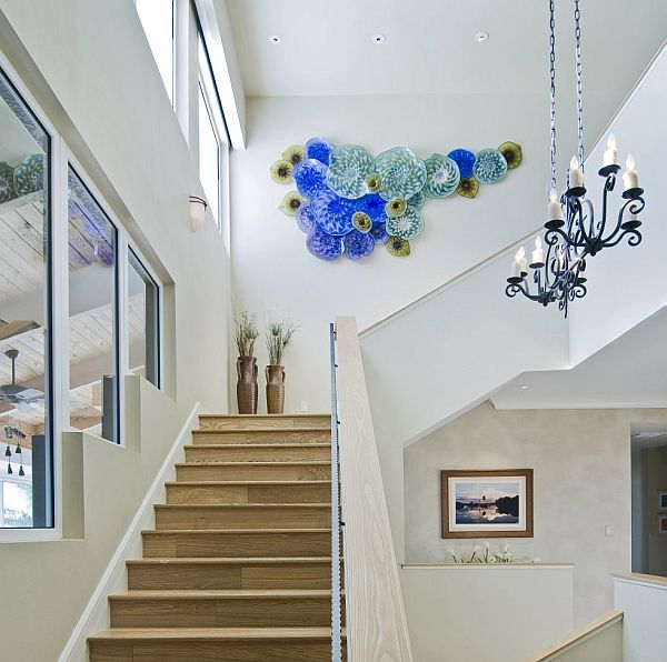 Seven Creative Ways to Design a Stairwell on Creative Staircase Wall Decorating Ideas  id=45878