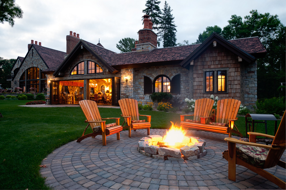 30 best ideas for backyard fireplace and pergolas on Fireplace In Yard  id=67905