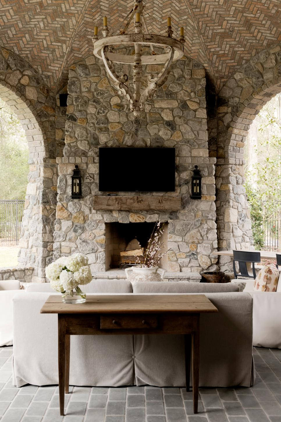 30 best ideas for backyard fireplace and pergolas on Fireplace In Yard id=23437