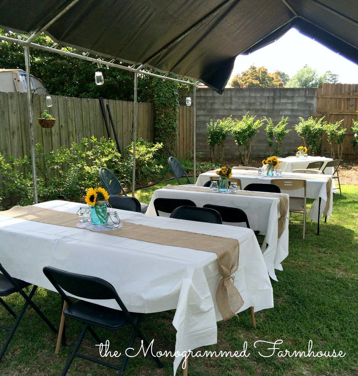 Backyard Cookout Decor 10 Inspiring Ideas Party Decorations on Backyard Table Decor id=27004