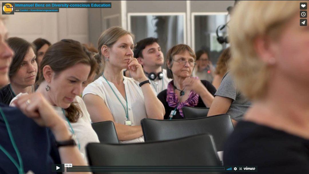 Immanuel Benz on Diversity-conscious Education
