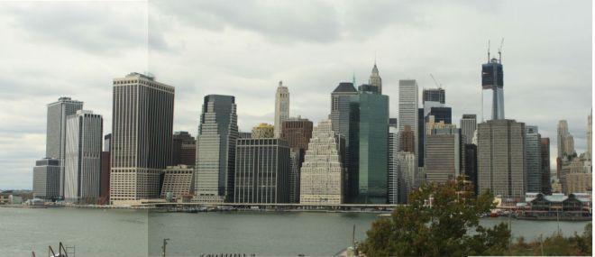 Skyline of Manhattan, seen from Brooklyn
