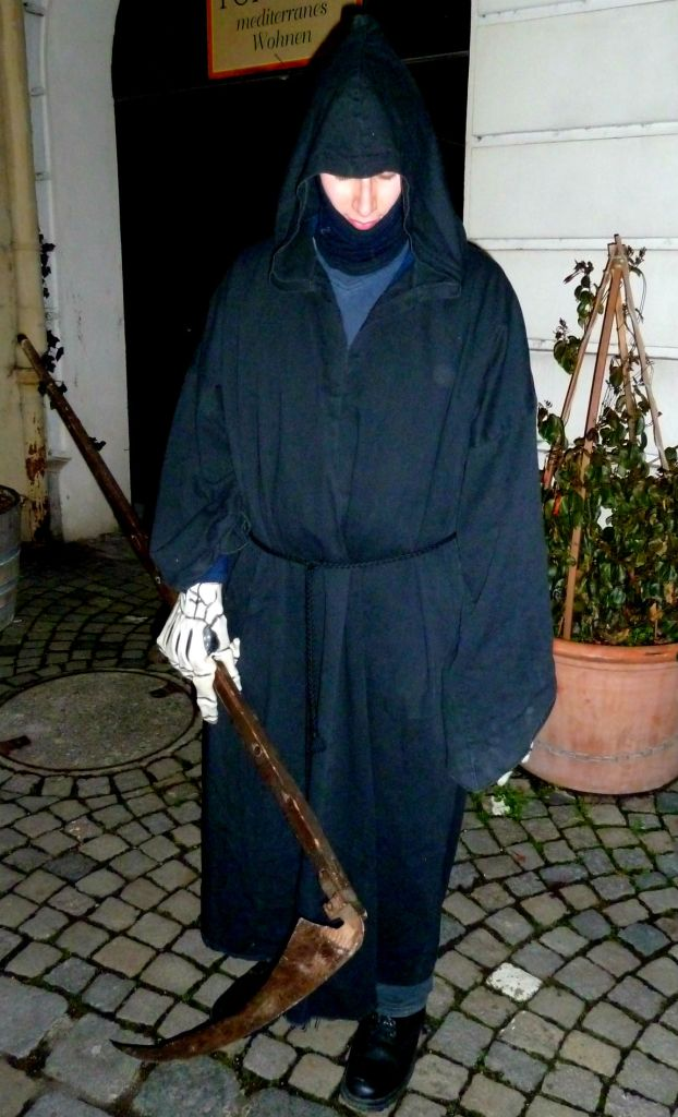 Meeting the Grim Reaper in Esslingen