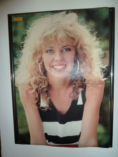 Kylie Minogue in the 80s