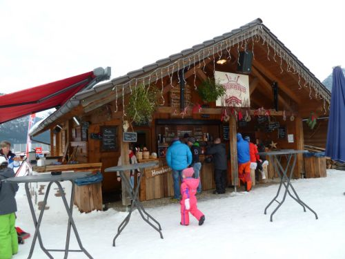 Ski hut at the Hausberg