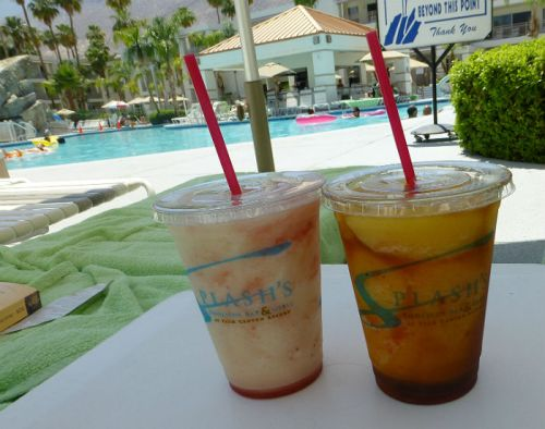 Fantastic cocktails at Palm Canyon Resort