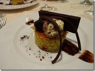 carnival splendor black pearl restaurant dessert 1