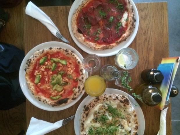 L.A. Signorina – extraordinary pizza in Stuttgart at Marienplatz