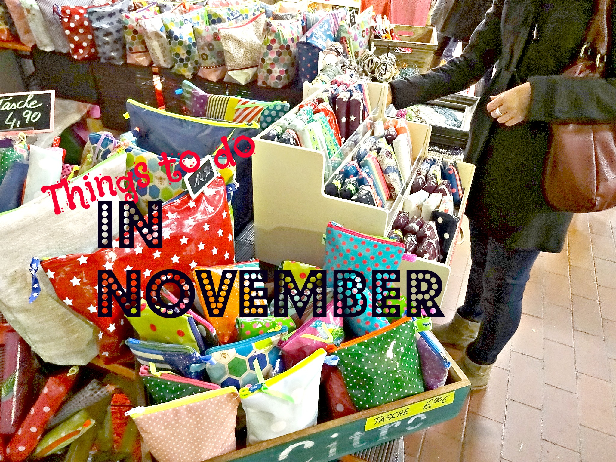 Things to do in November