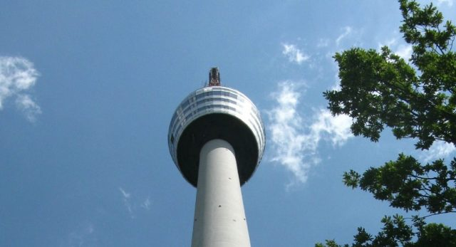 Things to do this March in Stuttgart: Listen to a full moon concert on top of the tv tower